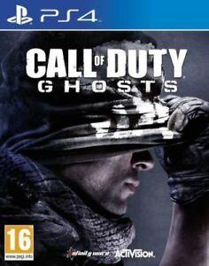 Call-of-Duty-GHOSTS-PS4-Menta-1st-Class-RAPIDO-E-GRATUITO-consegna