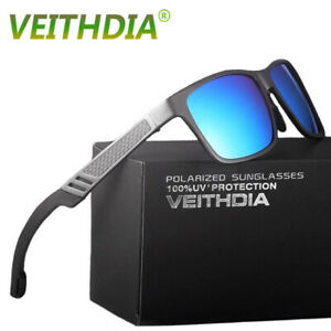 Men Aluminium HD Polarized Photochromic Sunglasses Chameleon Driving Sun Glasses