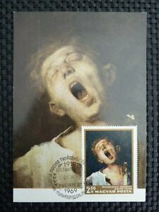 UNGARN-MK-1966-PAINTING-UNGARN-MK-GEMALDE-MAXIMUMKARTE-MAXIMUM-CARD-MC-CM-a8687