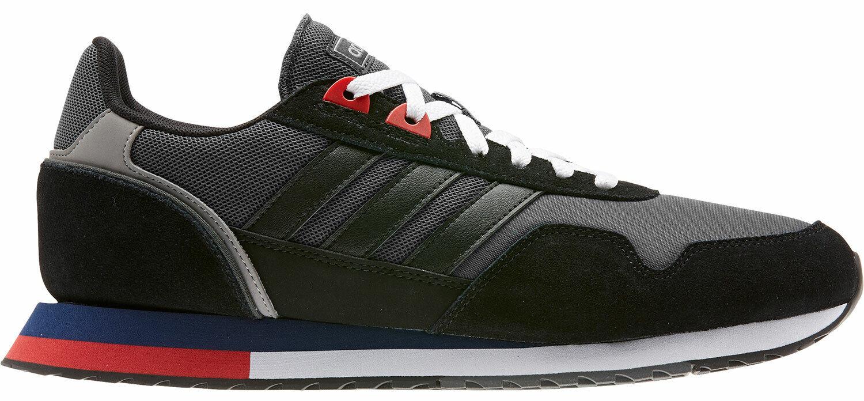 Adidas Herren Turnschuhe Turnschuhe Freizeitschuhe Eh1429 Grau Schwarz Neu