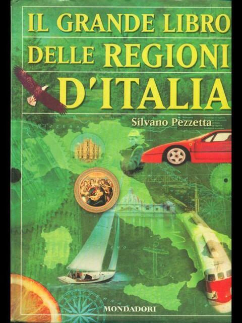 Il Grande Book Of Regioni D'Italia Silvano Cleaning Cloth Mondadori 2001