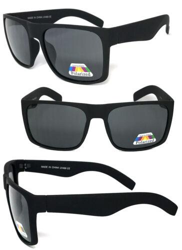 Mens Womens Oversized Square Polarized Sunglasses Motor Cycle Sports UV Protect