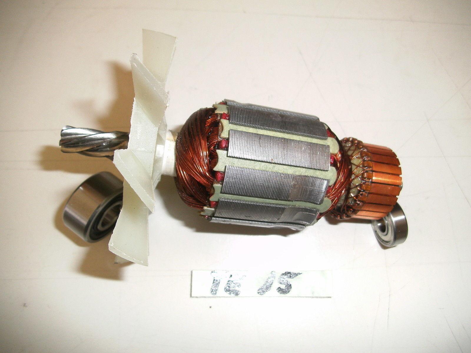 Anker, Rotor für Hilti TE 15 mit beiden Lagern