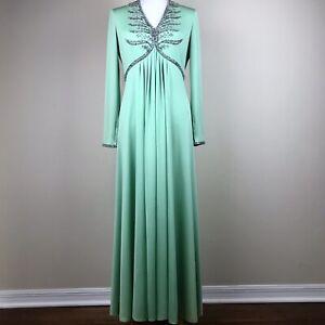 Rubin M Royal Crystals 8 Beaded Ltd maat Green jurkjurk Zip Lillie Victoria 7xTpfqf