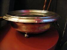 Chauffe Plat en Argent Doublé Silver Silber XIX ème siècle