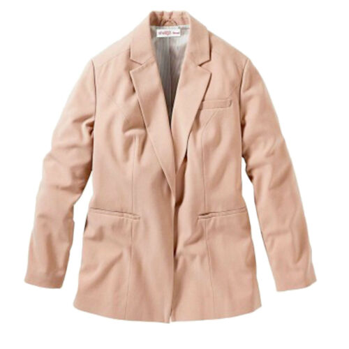 Basic Casual Büro Business 58 Gr Puder Anzug Rosa 56 jacke Blazer xwSSRO