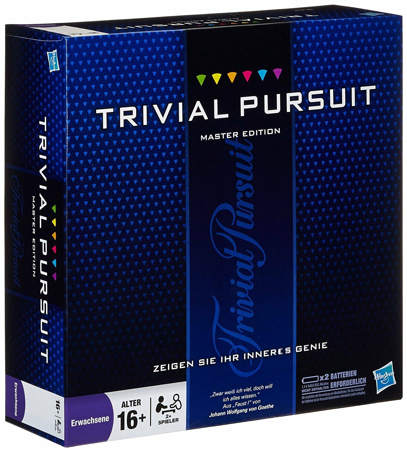 Trivial PURSUIT Master Edition tutto in tedesco e come nuova. RAR