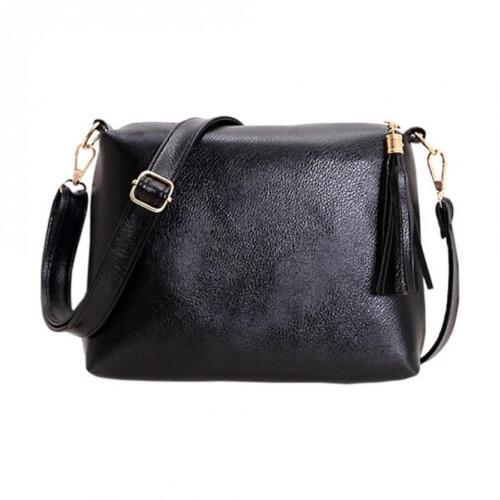 Women Daily Casual Tassel Messenger Cross Body Shoulder Sling Bags Handbags