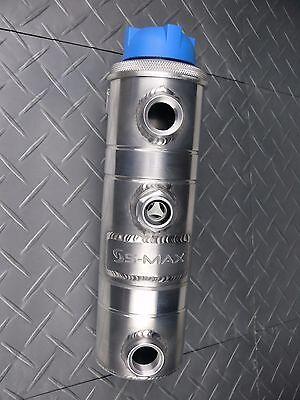 S-Max Universal Billet Aluminum Coolant Expansion Tank