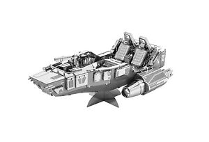 First-Order-Snowspeeder-STAR-WARS-EPISODIO-7-Kit-Metal-3d-metall-bausatz-Earth