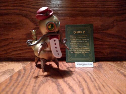 Mechtorians 2 Mini Figure Series Dunny Kidrobot Carter P 2//24