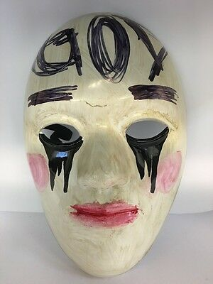 THE PURGE MOVIE FANCY DRESS UP WRESTLING MASK ADULT CHILD ANARCHY ELECTION YEAR