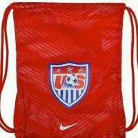 Brand Official Nike Usa Gym Sack ( Egy122013 ) Red