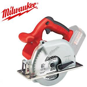 Milwaukee 6320-20 NiCAD 18 Volt 6-1//2 in Metal Cutting Saw TOC w//Full Warranty