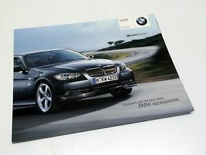 Details About 2006 Bmw 3 Series Accessories E90 Preview Brochure