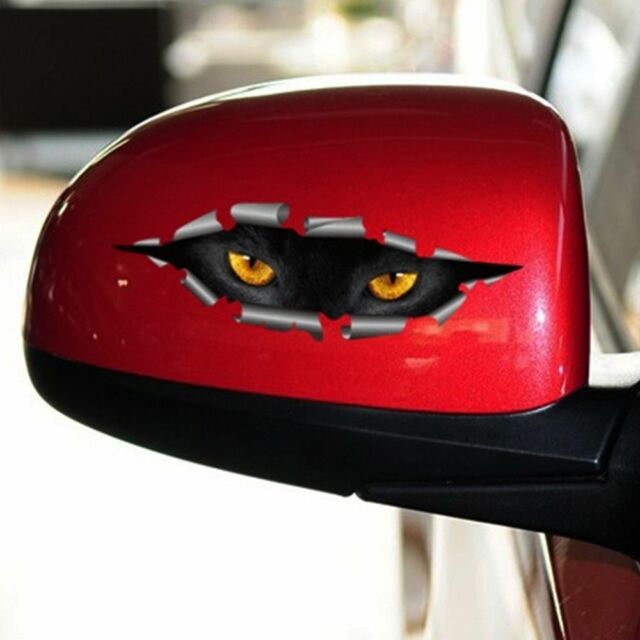 Funny Cars Styling Cat Eye Sticker Auto Accessories Car Sticker Peeking
