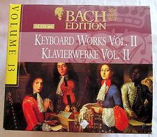 12 CD-Set - BACH EDITION 13 - Keybord Works Vol. II - Klavierwerke