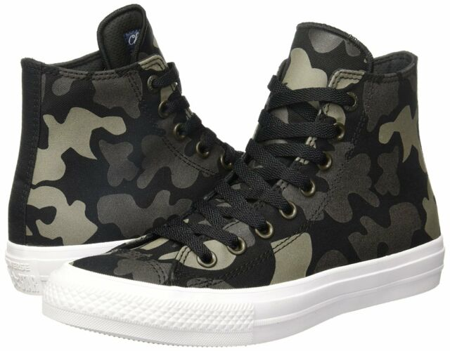5be593d6572b Mens Converse Chuck Taylor II All Star Hi Camo 151157C Sneakers-size ...