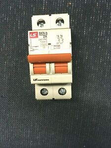 LSIS-Bkn-B-C2A-Circuit-Breaker-2pole-034-SOLD-INDIVIDUALLY-034