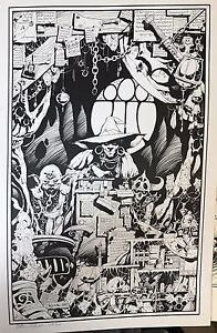 1983-Warlock-Magic-15-x-22-Print-Signed-amp-numbered-by-MIKE-MIGNOLA-Hellboy