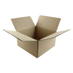 "100 7x7x5 ""EcoSwift"" Brand Cardboard Box Packing Mailing Shipping Corrugated"