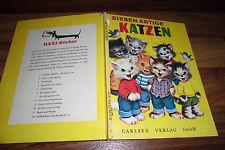 SIEBEN ARTIGE KATZEN -- Daxi-Buch  # 2- // Carlsen 1964 Illus. Elizabeth Webbe