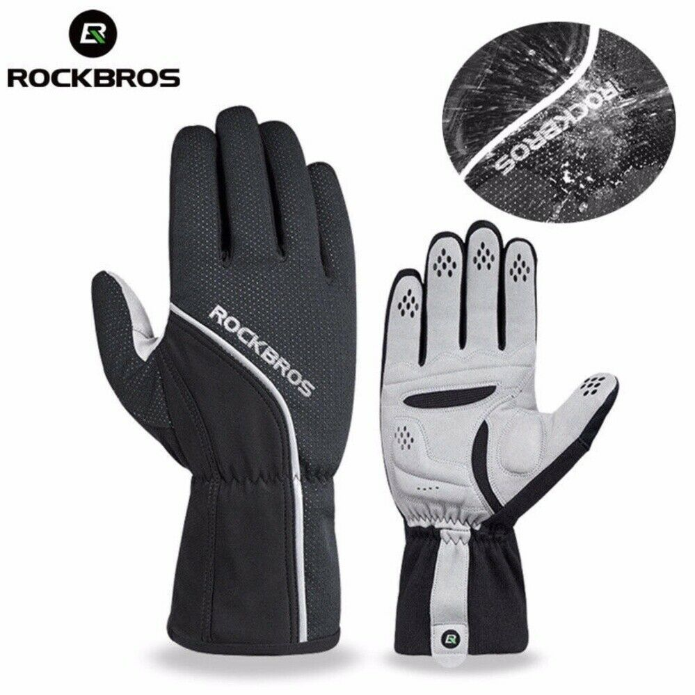 ROCKBROS -5℃ Cycling Gloves Winter Thermal Windproof Waterproof for Motorcycle