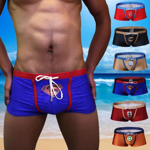 Mens Swim Trunks Swimwear for Beach Boardshorts Swimming Boxer Shorts Swimsuit
