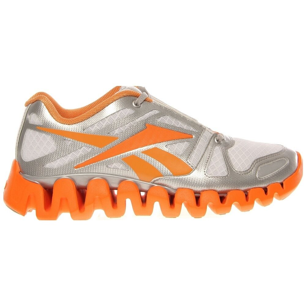 NEW REEBOK ZIGTECH ZIG DYNAMIC Running MENS Orange Weiß Silber  110 NIB
