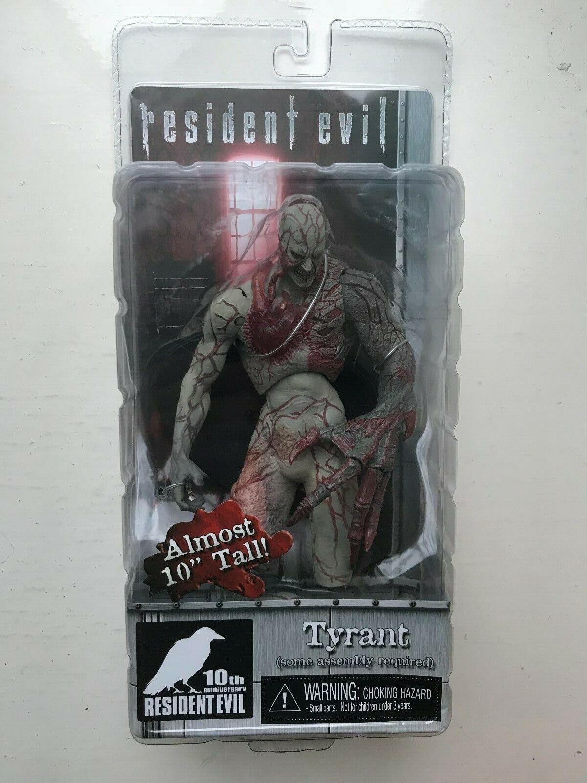 Nuevo Y En Caja NECA Resident Evil Figura De Acción 10TH Anniversary Serie tirano 10 pulgadas