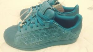 sports shoes 47f66 520b4 Image is loading ADIDAS-Originals-SUPERSTAR-Xeno-All-Star-Blue