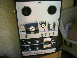 Vintage-Roberts-771X-Reel-to-Reel-Recorder-Partially-Tested-made-in-Japan