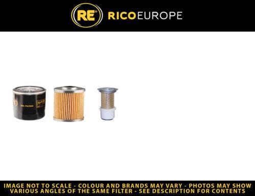 Öl Luft Kraftstofffilter Hitachi EX15 Filter Service Kit