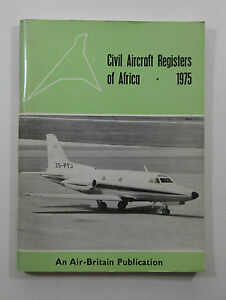 Civil-Aircraft-Registers-of-Africa-1975-by-I-P-Burnett-Air-Britain