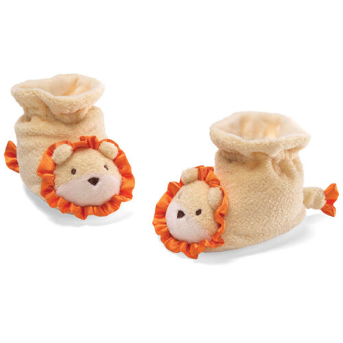 Baby GUND CLEARANCE SALE! #4030420 LION BABY BOOTIES