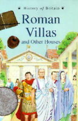 1 of 1 - History Of Britain Topic Books: Roman Villas & Great Houses Paperback, Bergin, M