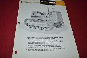 Caterpillar D4 Series D Crawler Tractor Dealers Brochure DCPA6 ver3