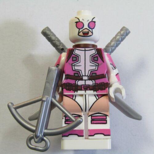 /'Gwenpool/' Deadpool Custom Minifigure Fridge-magnet Superhero Stocking Filler