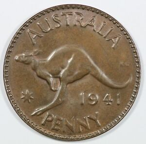 Australia-1941-M-Penny-Brown-Uncirculated