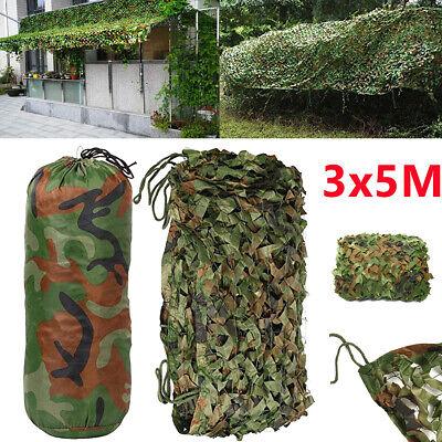 Tarnnetz Flecktarn Camo Netz Tarnung Schutz Camping Jagd Outdoor 4 Größe Wahl DE