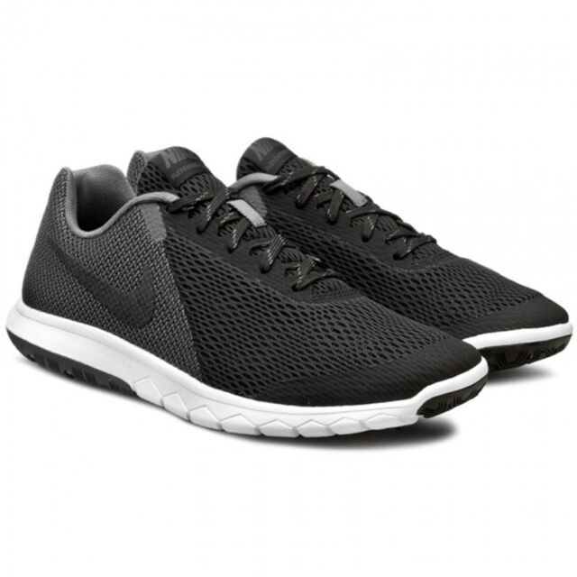 af6c335461a6 Nike Flex Experience RN 5 Mens 844514-002 Black Grey Mesh Running ...