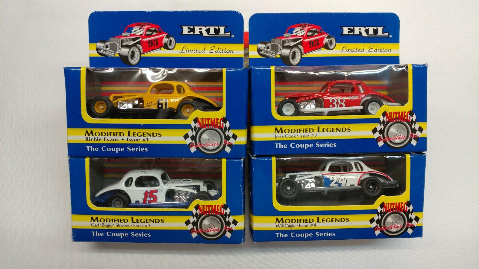 online al mejor precio Ertl Nuez moscada suciedad modificado modificado modificado leyenda Coupe serie tema Lote de 4 edición limitada de 1 2 3 4  descuento de ventas