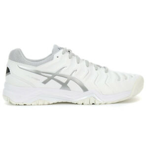 ASICS Men's Gel-Challenger 11 White/Silver Tennis Shoes E703Y.0193 NEW!