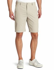 Greg-Norman-Herren-Tailored-Flat-Front-Tech-Performance-Golf-Shorts-taupe-32-W