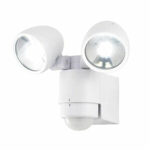 Pir led security spot floodlight modern light white 3 year image is loading pir led security spot floodlight modern light white mozeypictures Gallery
