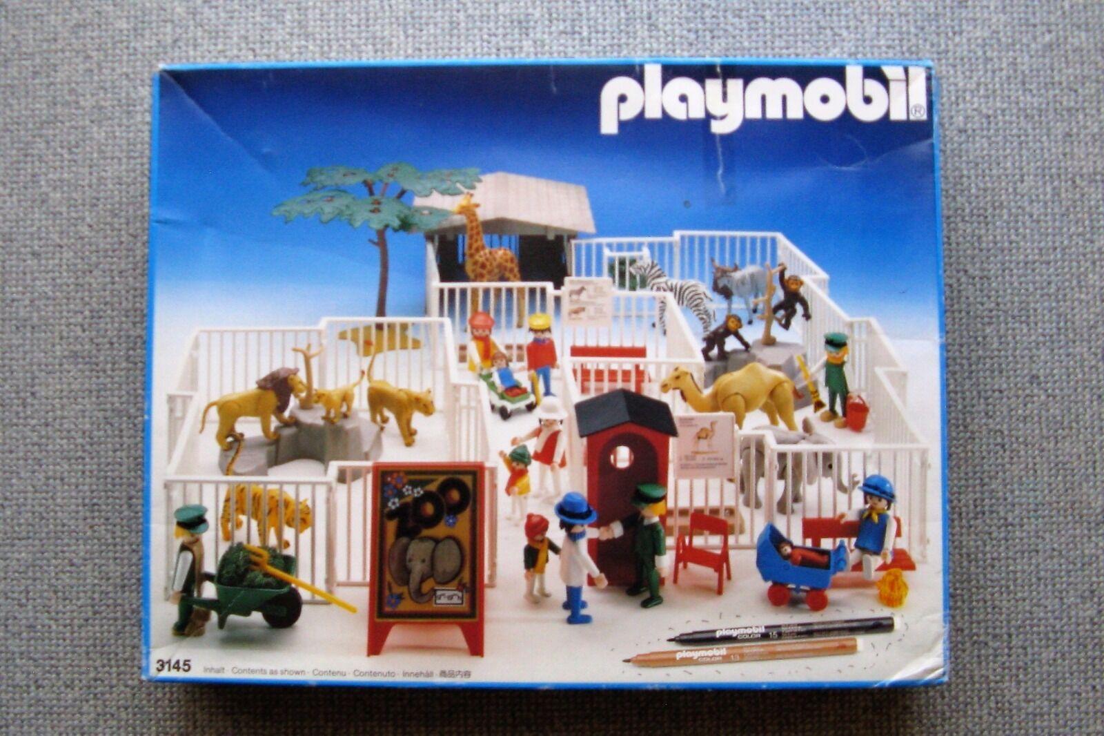 Playmobil 3145 - Zoo mit OVP alt und sehr selten