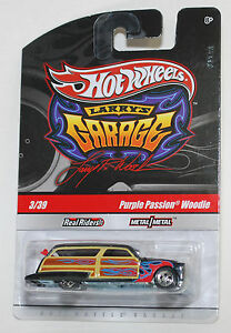 Hot Wheels Larry S Garage  Car Set