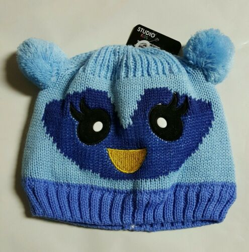 Cute Toddler Infant Baby Boy//Girl Knit Crochet Animal Winter Warm Beanie Cap Hat