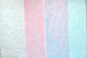 2-x-A4-Sheets-Small-Roses-Vellum-112gsm-Choice-of-Silver-Baby-Pink-baby-Blue-NEW