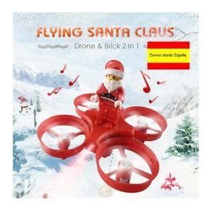 Drone con sonido. Dron Santa Claus con música.jjrc h67